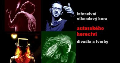 Kurz autorského herectví, divadla a tvorby