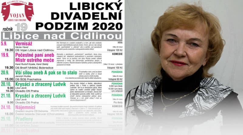 Libický divadelní podzim Helena Vondrušková