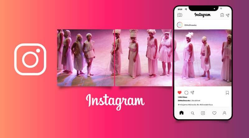 Instagram v ochotnických kruzích - má to smysl?