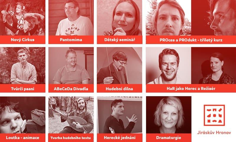Který seminář NENÍ v nabídce letošního ročníku festivalu Jiráskův Hronov?