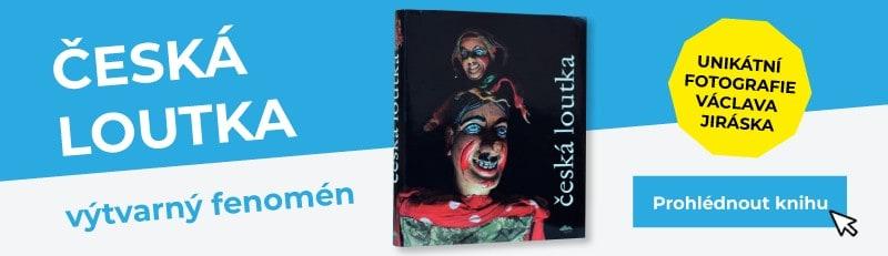 Kniha Česká loutka - výtvarný fenomén